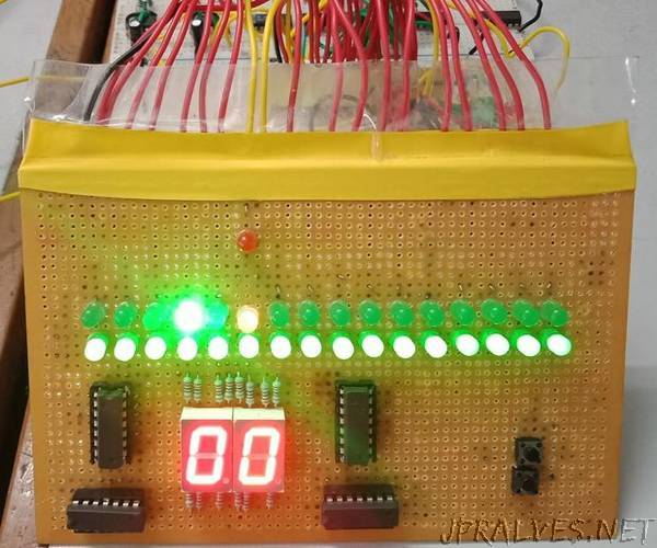 Dot Jump Game (without Using Arduino)
