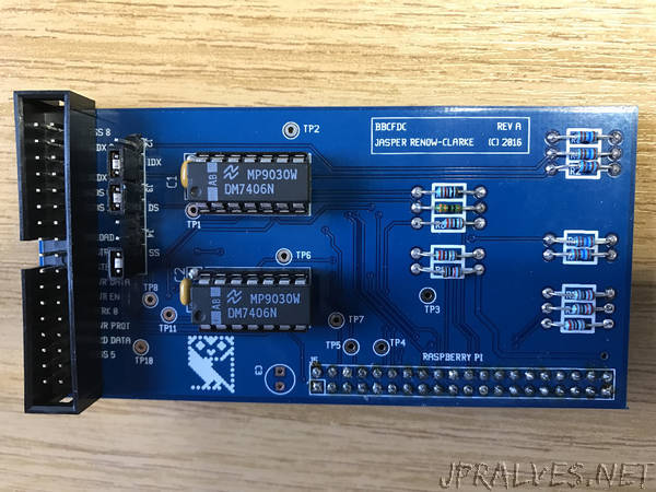 Floppy disk interface for Raspberry Pi