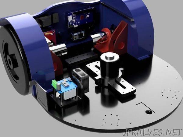 3D printed mower build