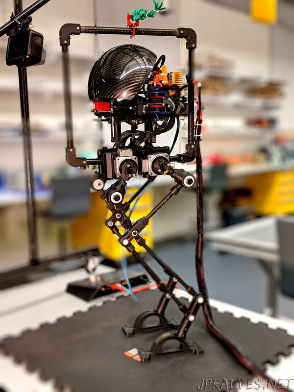 Some Robots Walk. Others Fly. He Built One That Can Do Both