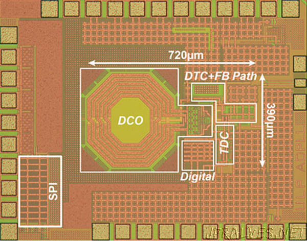 An ultra-low-power frequency synthesizer targeted for IoT devices: Digital PLL achieves a power consumption of 0.265 mW
