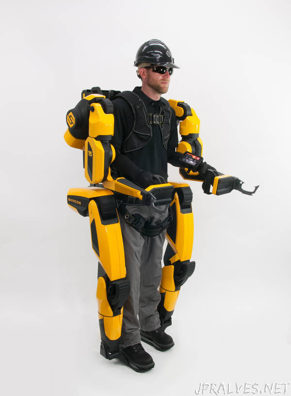 XO-rbitant Strength: Electric Exoskeletons Give Wearers The Strength Of A Forklift But A Gentler Touch