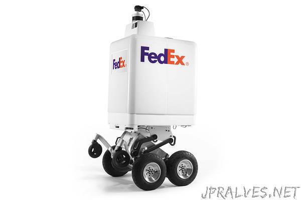 Delivering the Future: FedEx Unveils Autonomous Delivery Robot