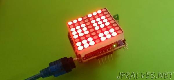 Shaking Arduino Dice