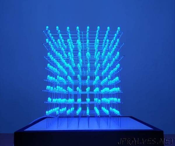 8x8x8 Led Cube - jpralves net