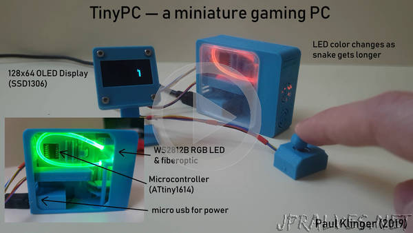 TinyPC - A miniature gaming PC