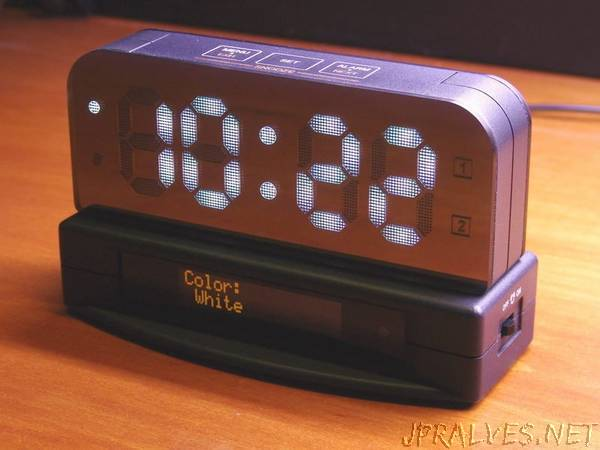 Another alarm clock project