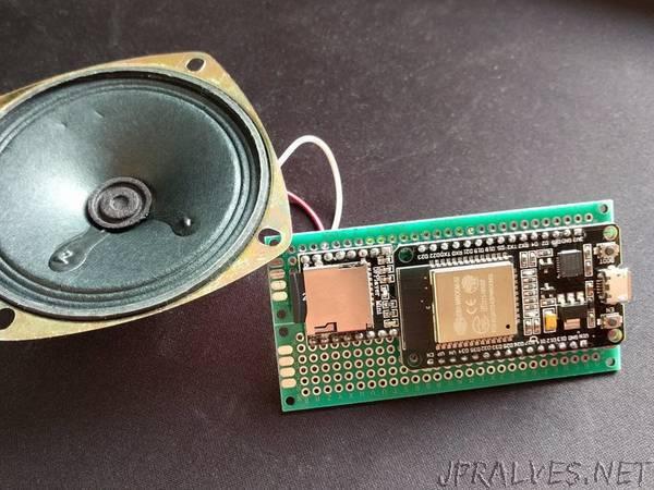 WiFi Doorbell with ESP32 and DFPlayer