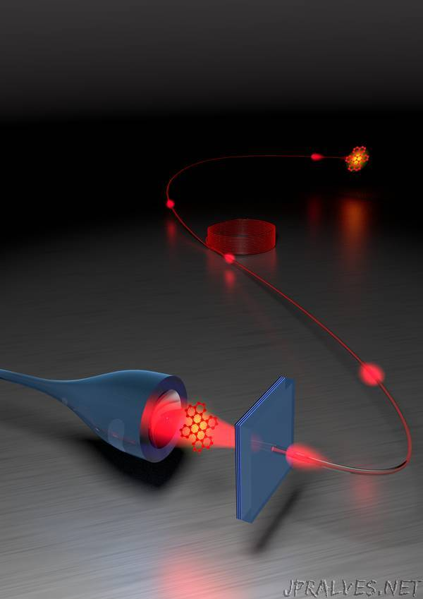 Turning a molecule into a coherent two-level quantum system