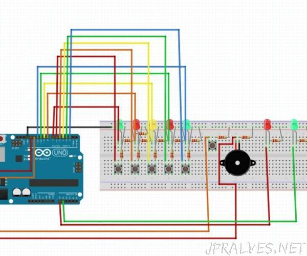 Arduino: Game Using LEDS