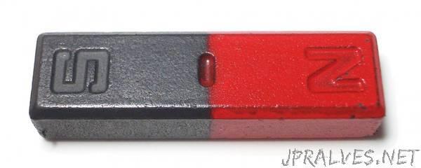 Lasers make magnets behave like fluids