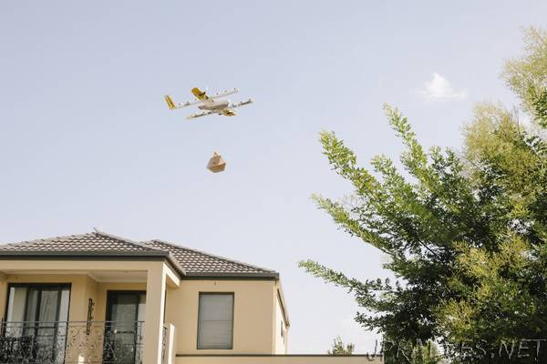 Wing launches commercial air delivery service in Canberra