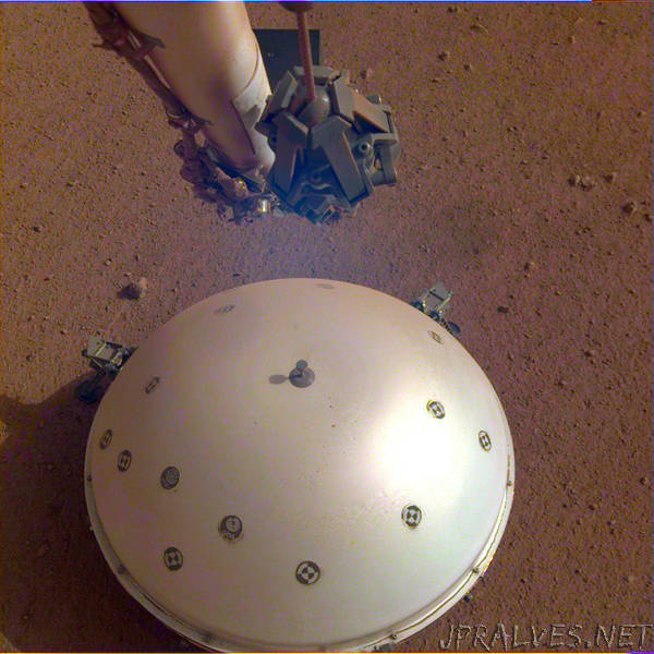 NASA's InSight Detects First Likely 'Quake' on Mars
