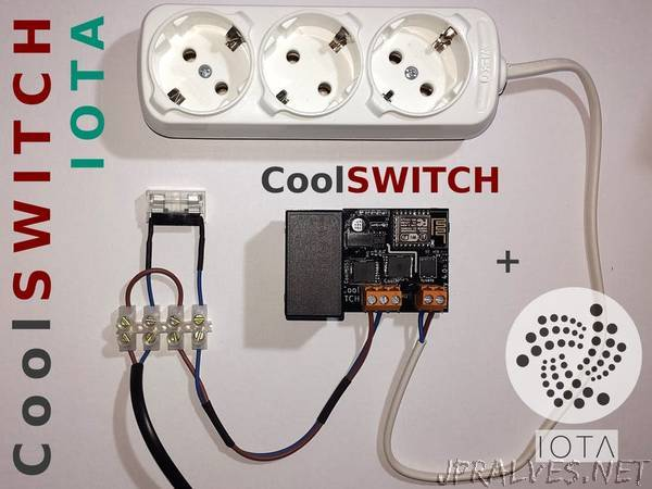 IOTA Enabled Solid-State Switch and Power Meter