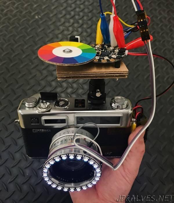 Color Spinner Camera Ring Light