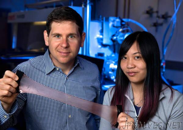 Squid skin inspires creation of next-gen heat regulating blanket