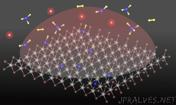 Adding a carbon atom transforms 2D semiconducting material