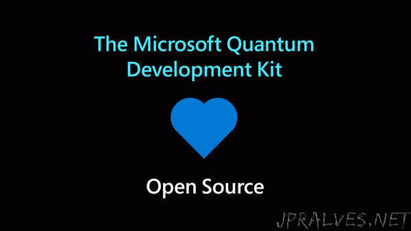 Open Source Release coming for Microsoft's Quantum Development Kit