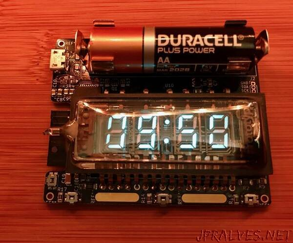 Vacuum Fluorescent Display Watch