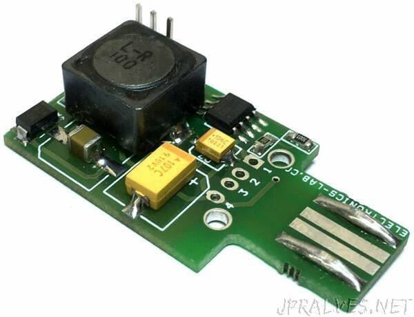 USB to -5V Negative Voltage DC-DC switching Converter