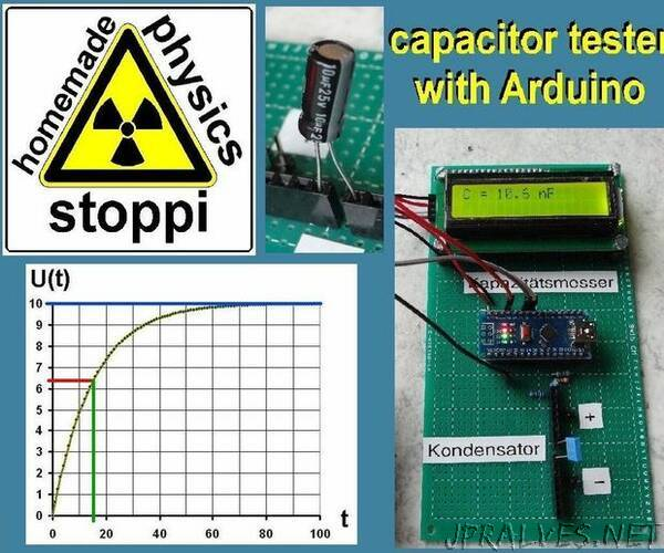 Simple Autorange Capacitor Tester / Capacitance Meter by Hand and With Arduino