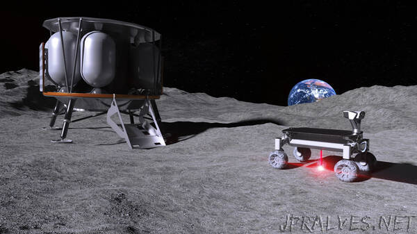 MOONRISE: Bringing 3D-printing to the moon – Melting moon dust with the laser