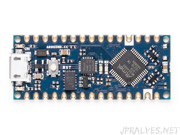 Getting started with the new Arduino Nano Every