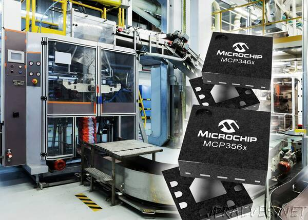 Fast Data Rates Meet High Accuracy in Microchip's New Analog-to-Digital Converter Families