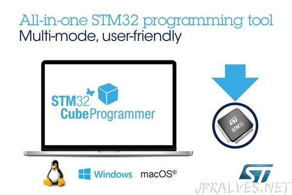 Latest Multi-OS Software Tool from STMicroelectronics Simplifies STM32 Programming and Protects Firmware Intellectual Property