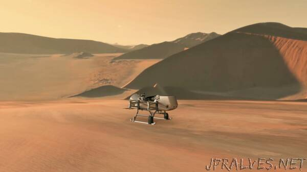 NASA's Dragonfly Will Fly Around Titan Looking for Origins, Signs of Life