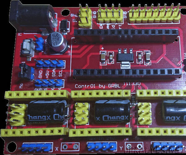Fix Cloned Arduino NANO CNC Shield