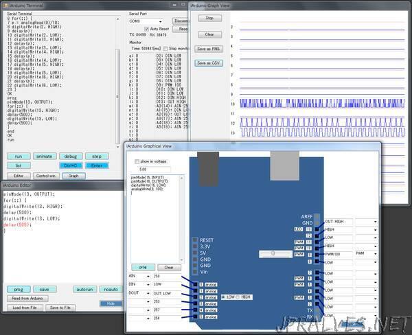 iArduino: a C Interpreter for Arduino
