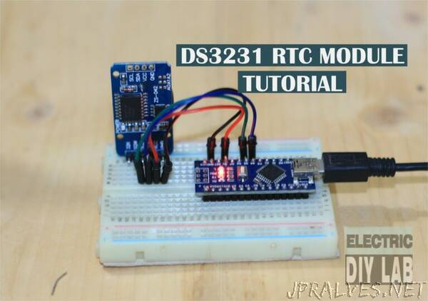 Arduino Real time clock (RTC) DS3231 Module Tutorial