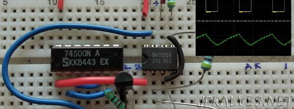 Building your own 555 Timer IC