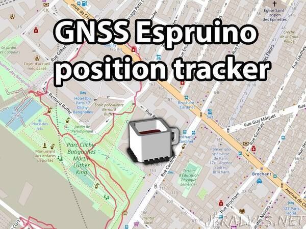 GNSS - Track Your Position with Espruino