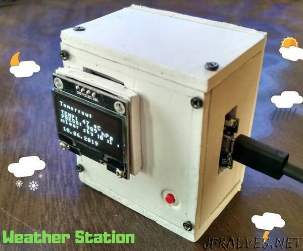 Indoor Weather Station V2.0