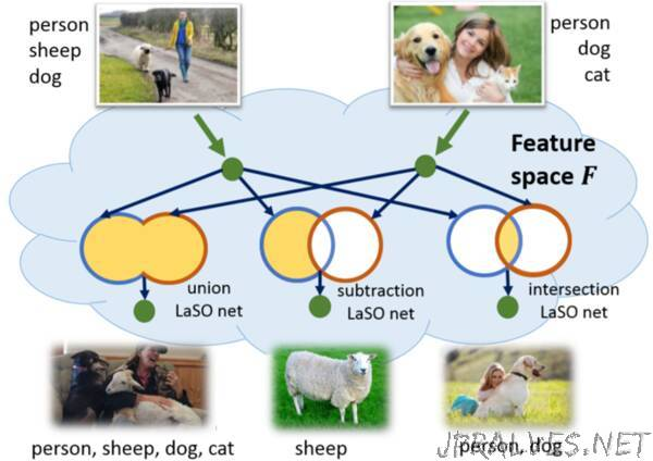 Label Set Operations (LaSO) Networks for Multi-Label Few-Shot Learning