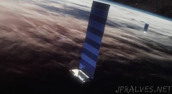 Contact Lost With Three Starlink Satellites, Other 57 Healthy