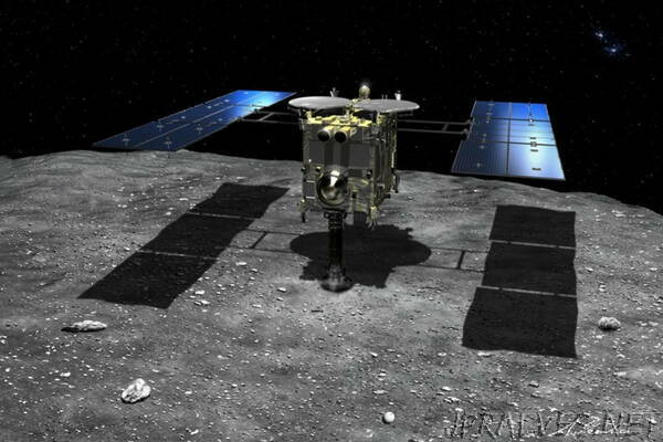In world first, Japan's Hayabusa2 probe collects samples from distant asteroid after second successful touchdown