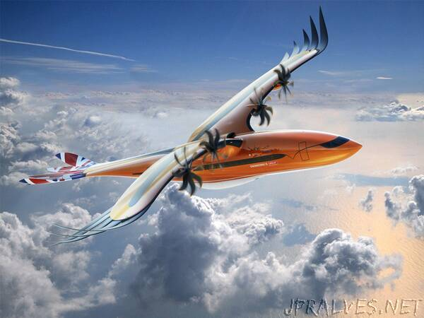 """An Airbus futuristic conceptual airliner """"takes flight"""" to inspire next-generation engineers"""