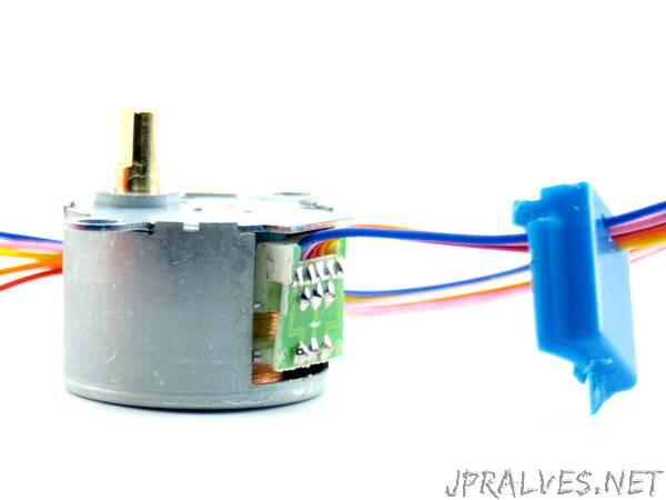 Change unipolar 28BYJ-48 to bipolar stepper motor