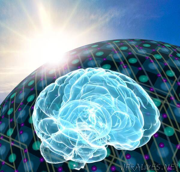 Photovoltaic technology to power synaptic- and neuronal-like devices