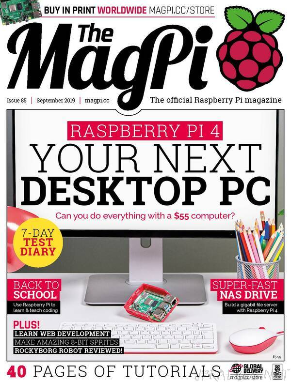 The MagPI 85