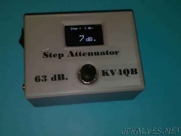 63 dB step attenuator