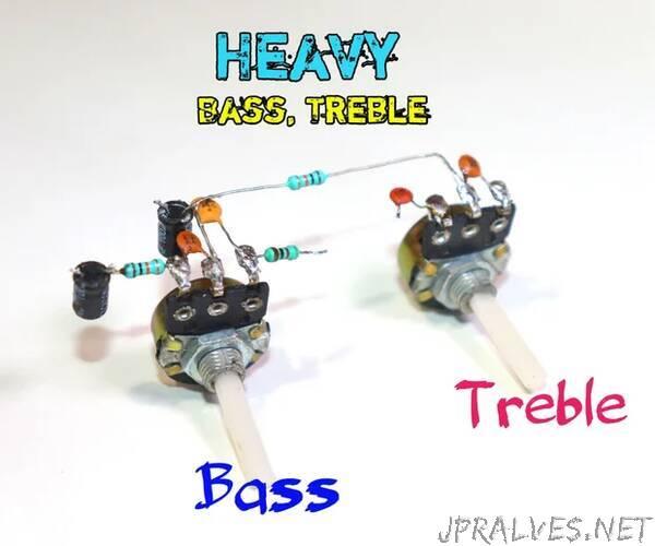 Heavy Bass and Treble Circuit