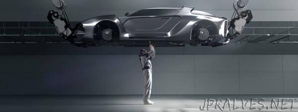 Hyundai Develops Wearable Vest Exoskeleton for overhead work
