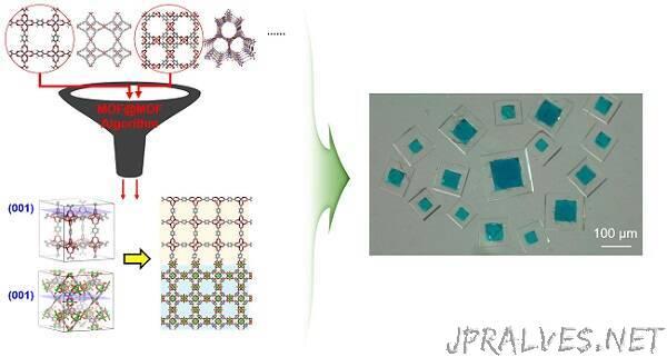 Algorithm Identifies Optimal Pairs for Composing Metal-Organic Frameworks