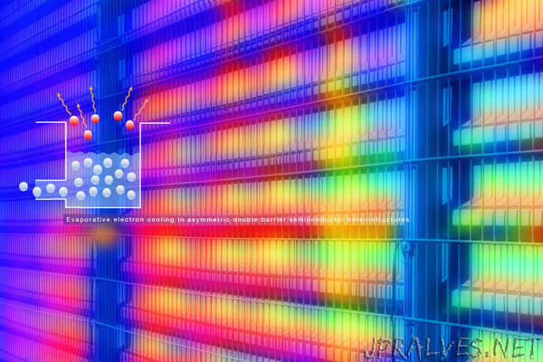 Keeping Cool with Quantum Wells