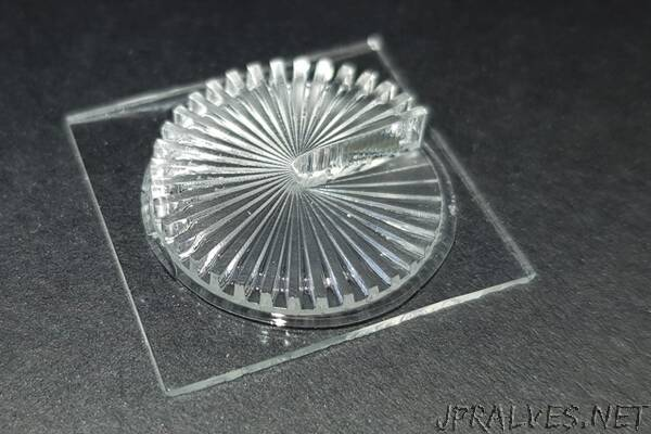 3D-printed optics for individualized mass production
