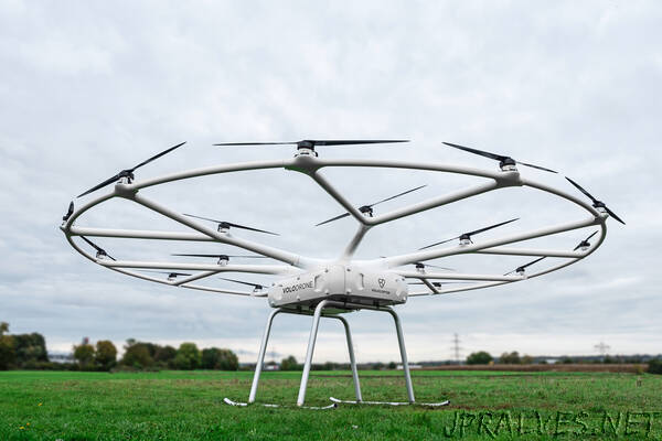 Volocopter expands into utility drone business with heavy-lift VoloDrone